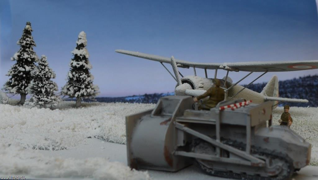Dewoitine D.371, Renault FT.17 Chasse-neige