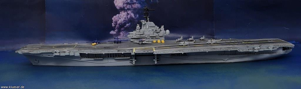 USS Intrepid CV-11 w/ angle deck 1972