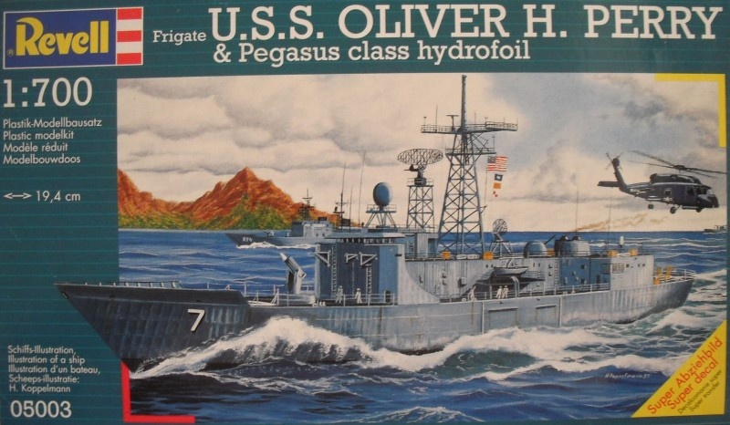USS Oliver H. Perry FFG-7