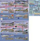 dH Sea Vampire T.22 Chile, dH Vampire 2-seater Decals