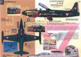 Lockheed T33 Aztec Knight, Lockheed T33 COIN Planes Decals